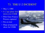 73 the u 2 incident