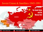 soviet union satellites 1945 1991