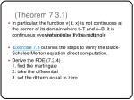 theorem 7 3 1