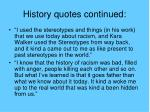 history quotes continued25