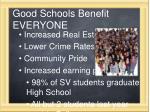 good schools benefit everyone