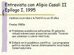 entrevista con alipio casali ii ep logo i 1995