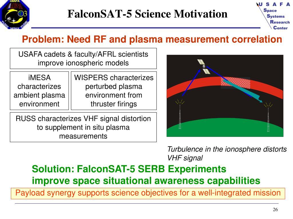 FalconSAT-5 Science Motivation