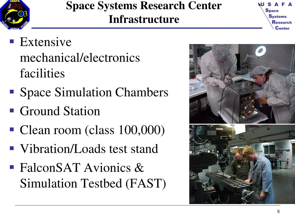 Space Systems Research Center Infrastructure