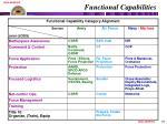 functional capabilities