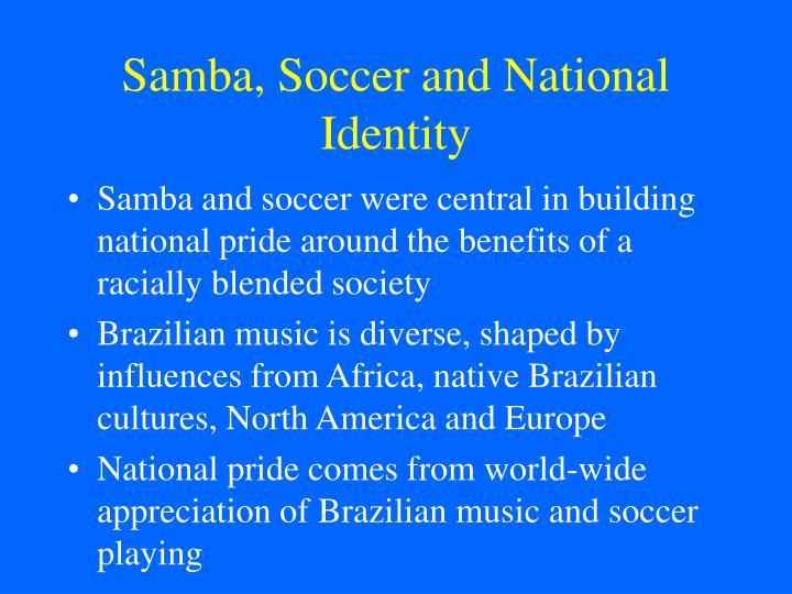 Samba soccer and national identity