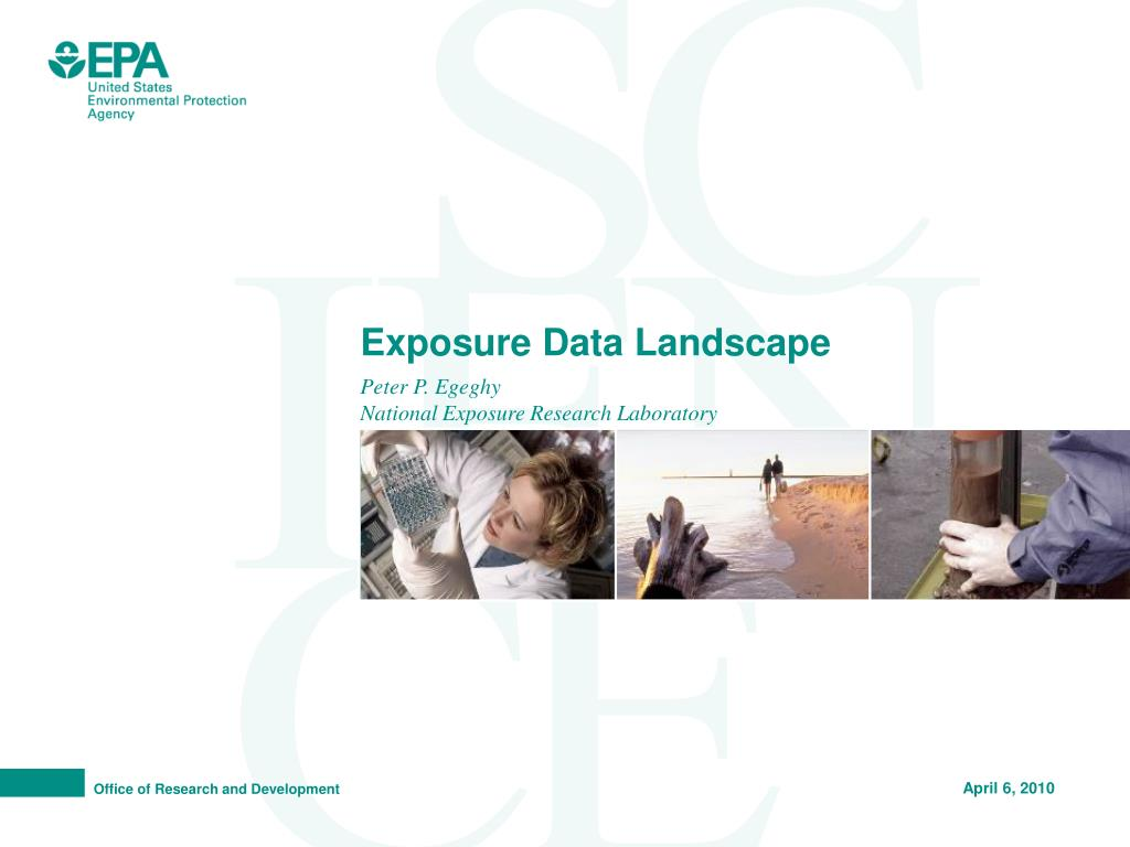 exposure data landscape l.
