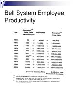 bell system employee productivity19