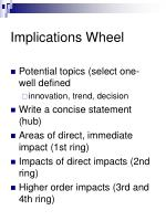 implications wheel