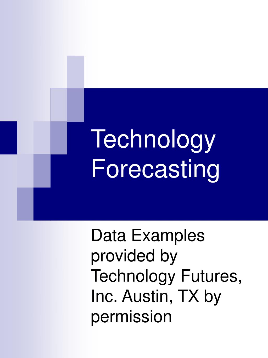 technology forecasting l.