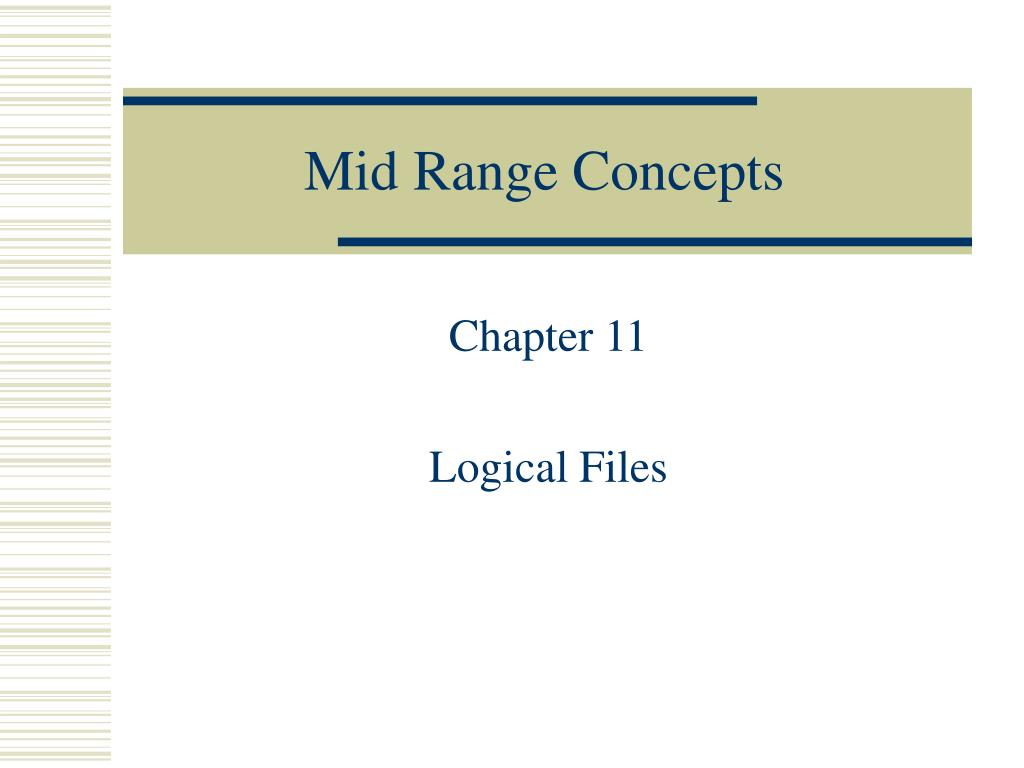 mid range concepts l.