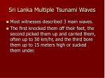 sri lanka multiple tsunami waves32