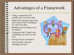 advantages of a framework