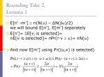 rounding take 2 lemma 1