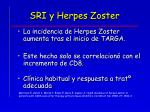 sri y herpes zoster