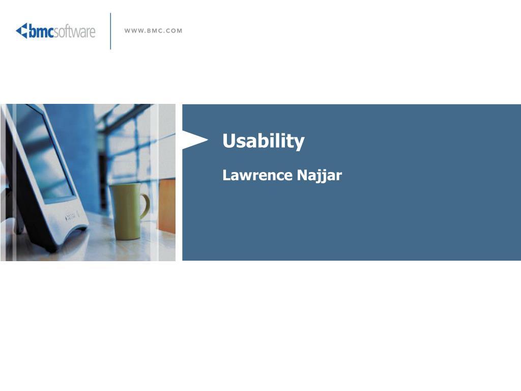 usability lawrence najjar l.