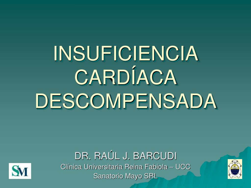 insuficiencia card aca descompensada l.