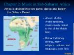 chapter 2 music in sub saharan africa