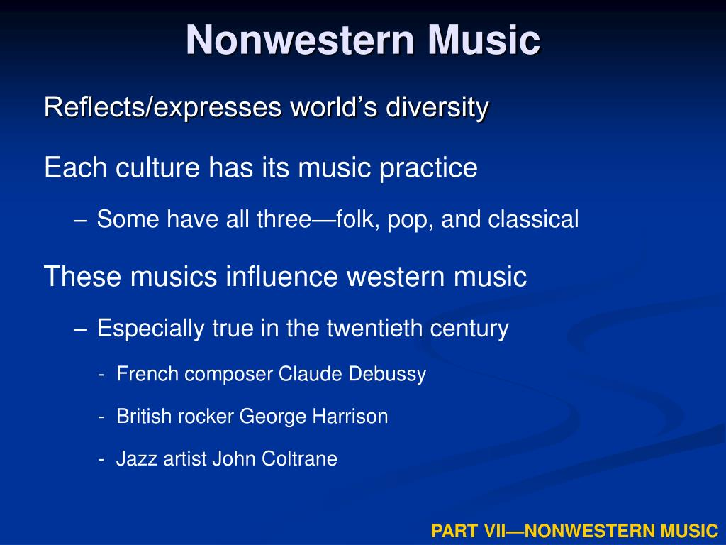nonwestern music l.