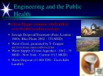 engineering and the public health