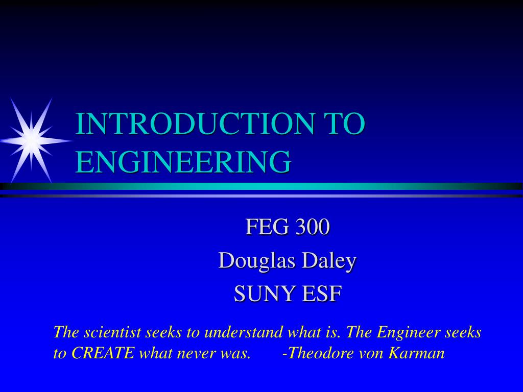 introduction to engineering l.