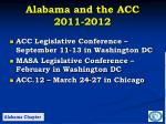 alabama and the acc 2011 2012
