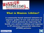 what is mission lifeline