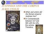 justinian and the corpus juris civilis6