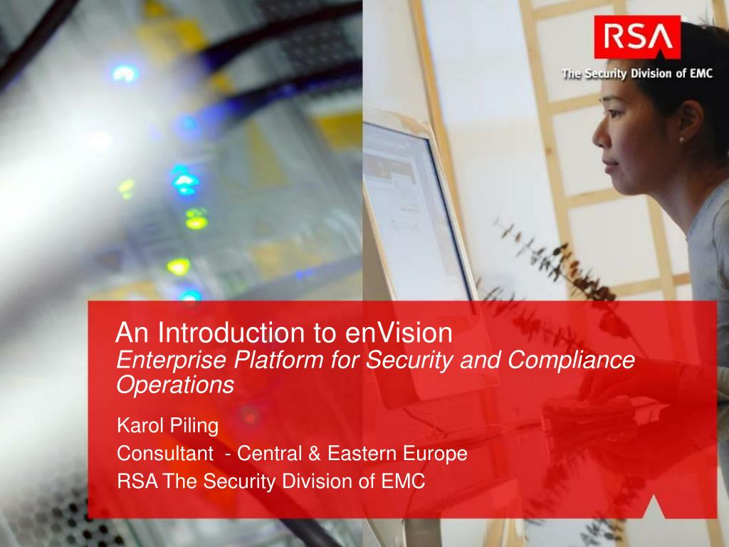 an introduction to envision enterprise platform for security and compliance operations l.