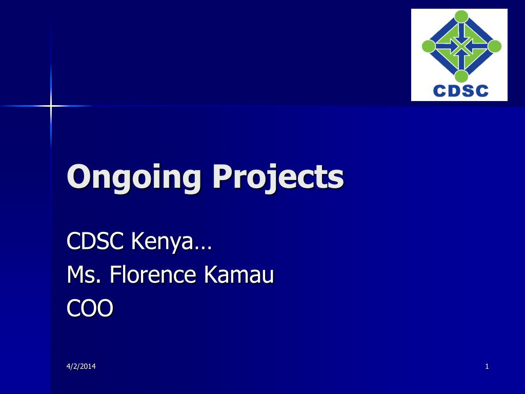ongoing projects l.