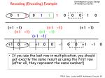 recoding encoding example