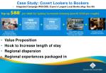 case study covert lookers to bookers