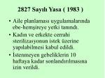 2827 say l yasa 1983