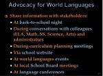 advocacy for world languages29