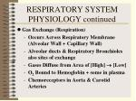 respiratory system physiology continued38