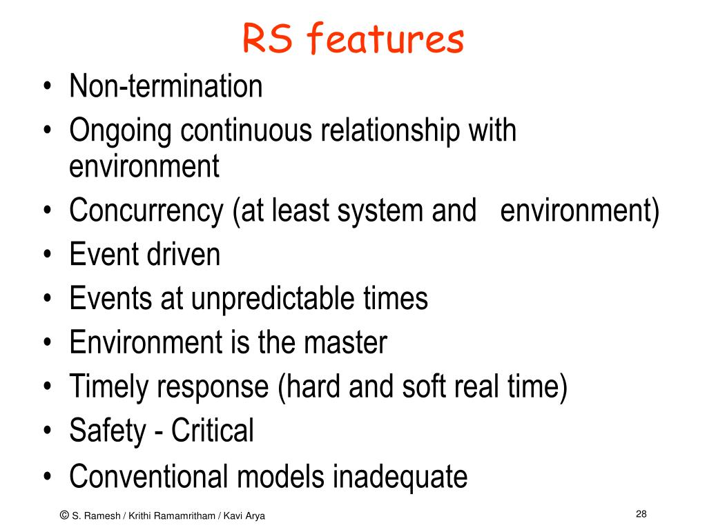 RS features
