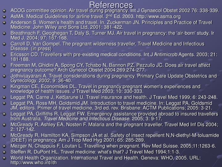 air travel in pregnancy guidelines