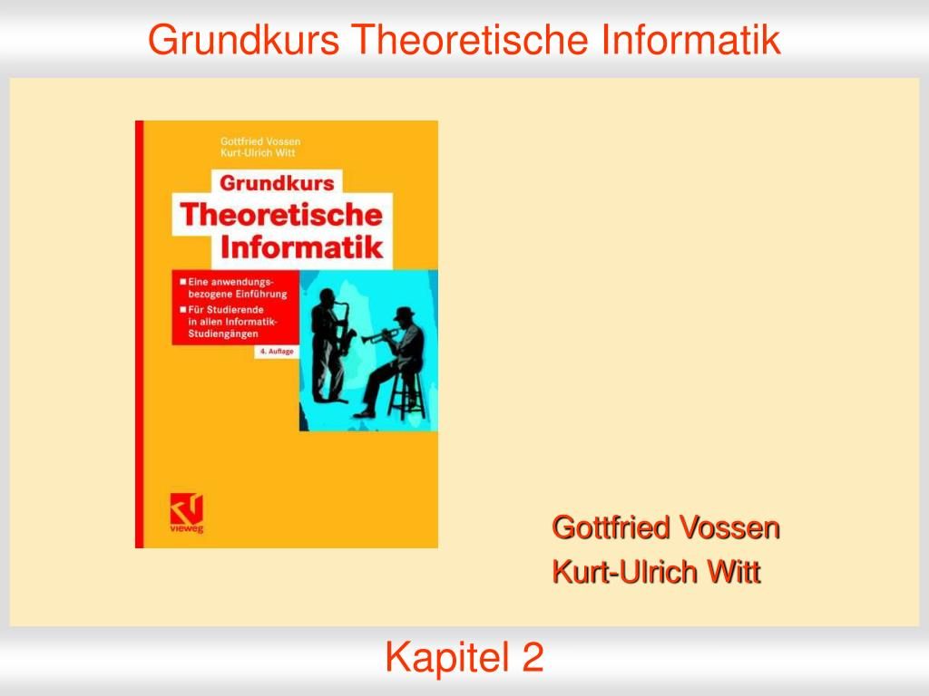 grundkurs theoretische informatik l.