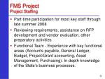 fms project project staffing23