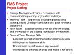fms project project staffing24