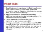 project vision12
