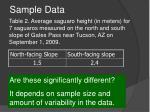 sample data24