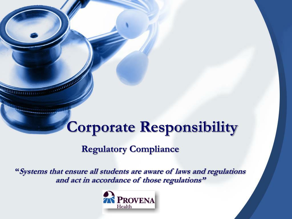 corporate responsibility l.