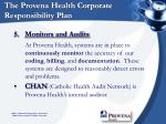 the provena health corporate responsibility plan11