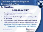 the provena health corporate responsibility plan13