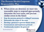 the provena health corporate responsibility plan14