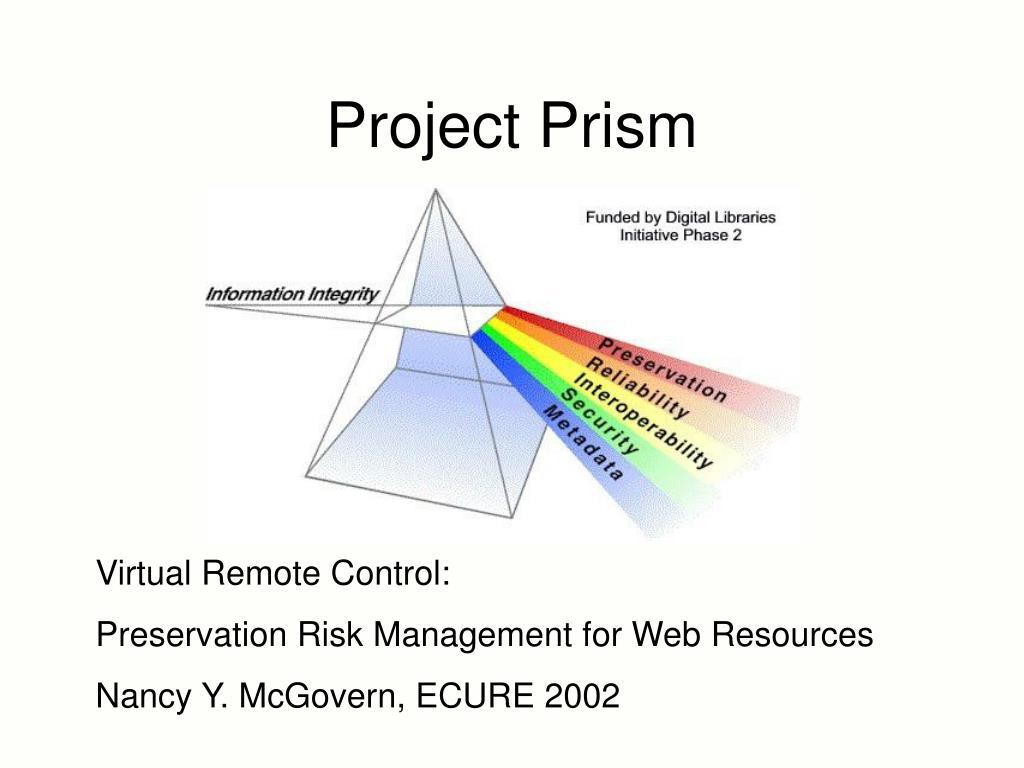 project prism l.