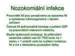 nozokomi ln infekce