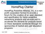 homeplug charter