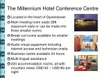 the millennium hotel conference centre
